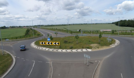 A47, Thorney Bypass - Copyright Michael Trolove