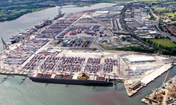 Docks, New Port of Southampton